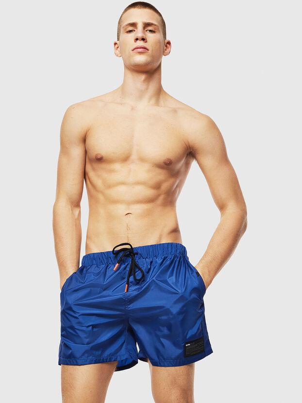 BMBX-WAVER, Blue - Swim shorts