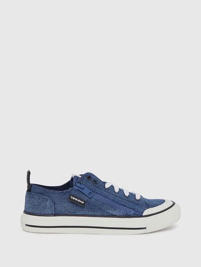Diesel - S-ASTICO LOW ZIP W, Blue Jeans - Sneakers - Image 1