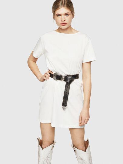 Diesel - D-YLY, White - Dresses - Image 1