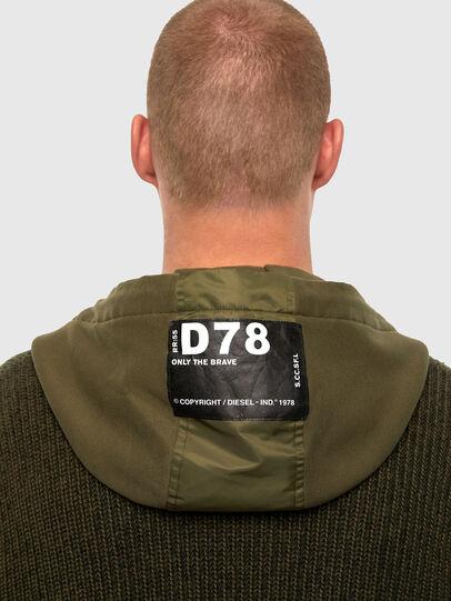 Diesel - K-THOMPSON, Olive Green - Jackets - Image 3