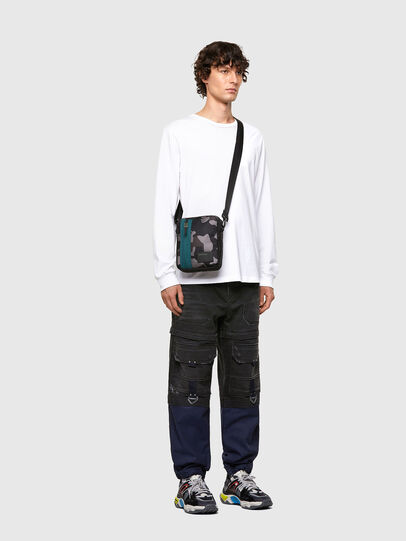 Diesel - ODERZO Z, Blue/Grey - Crossbody Bags - Image 6