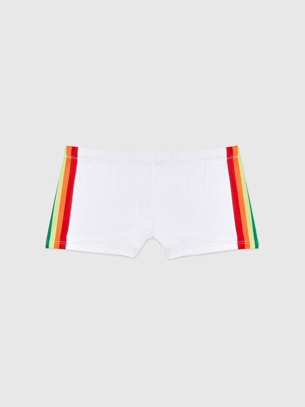 BMBX-HERO-P, White - Swim trunks