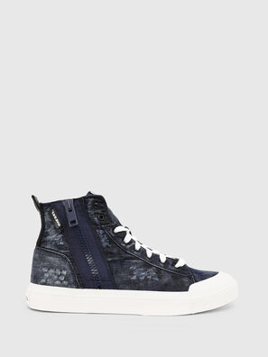 S-ASTICO MID ZIP, Blue - Sneakers
