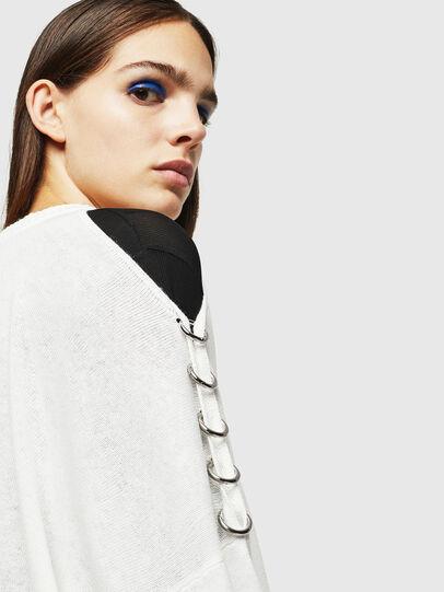 Diesel - M-NETTY, White - Knitwear - Image 4