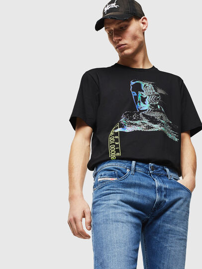 Diesel - Thommer 0097X, Medium blue - Jeans - Image 3