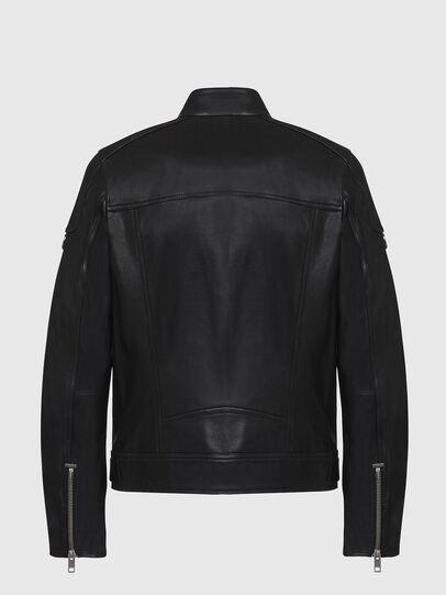 Diesel - L-CODY, Black - Leather jackets - Image 2