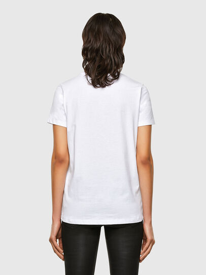 Diesel - T-SILY-K5, White - T-Shirts - Image 2