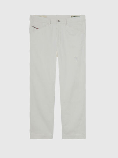 Diesel - D-Franky 009BZ, White - Jeans - Image 1