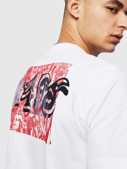 Diesel - T-JUST-T31, White - T-Shirts - Image 5
