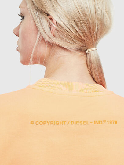 Diesel - S-BIAY-FLUO, Orange - Sweaters - Image 6