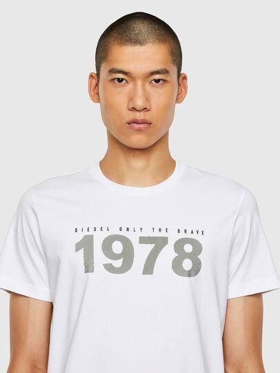 Diesel - T-DIEGOS-N33, White - T-Shirts - Image 3