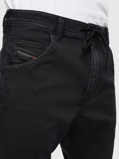 Diesel - Krooley JoggJeans 0687Z, Black/Dark grey - Jeans - Image 5