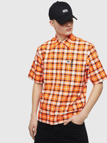 Diesel - S-ATWOOD-A, Orange - Shirts - Image 1