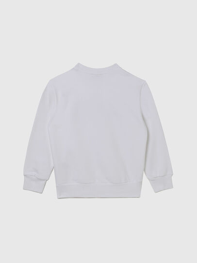Diesel - SGIRKCUTY OVER, White - Sweaters - Image 2