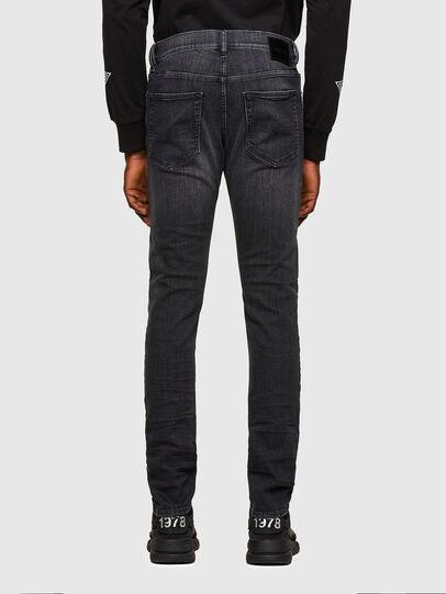 Diesel - D-Luster 009EN, Black/Dark grey - Jeans - Image 2