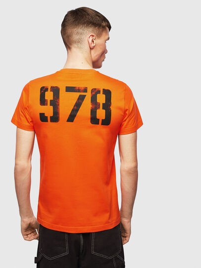 Diesel - T-DIEGO-S2, Orange - T-Shirts - Image 2