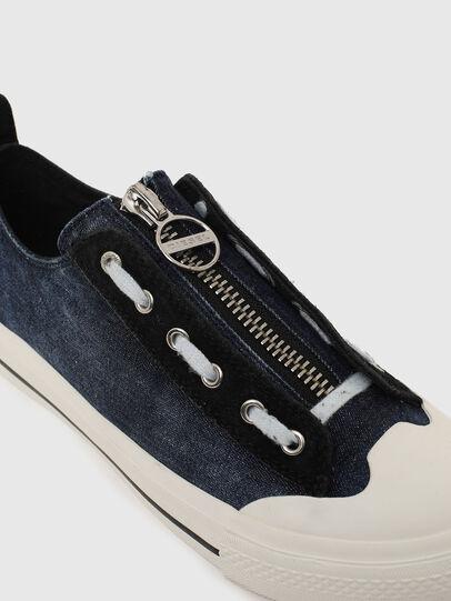 Diesel - S-ASTICO LZIP W, Blue - Sneakers - Image 4
