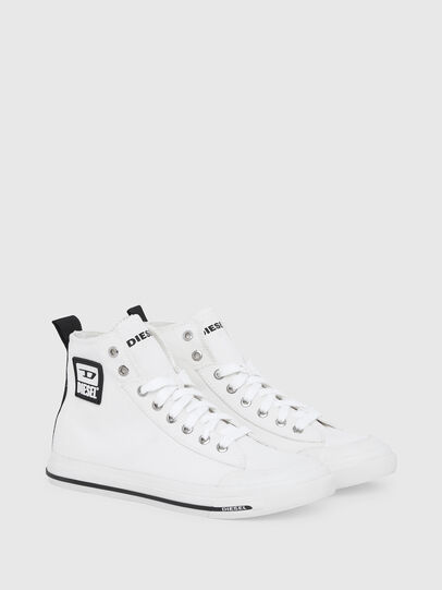 Diesel - S-ASTICO MID CUT W, White - Sneakers - Image 2