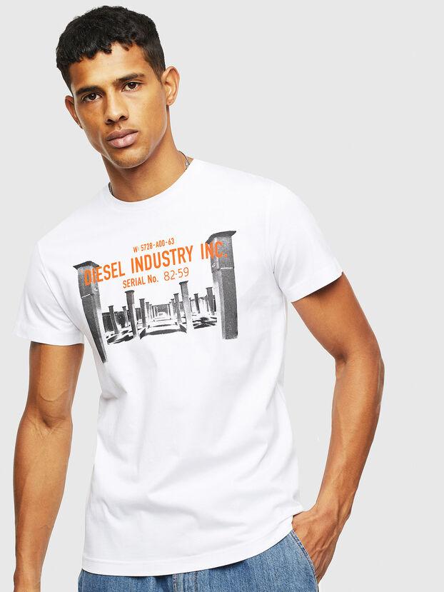 T-DIEGO-S13, White - T-Shirts