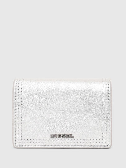 Diesel - LORETTINA, Silver - Small Wallets - Image 1