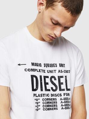 T-DIEGO-B6, White - T-Shirts
