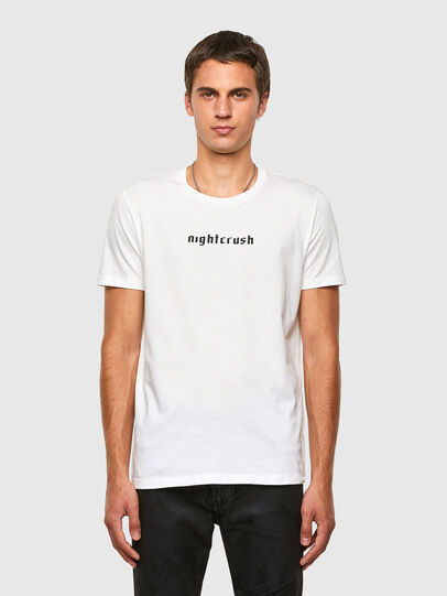 Diesel - T-INY, White - T-Shirts - Image 1