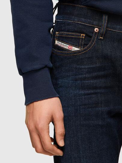 Diesel - D-Luster 009ZS, Dark Blue - Jeans - Image 4