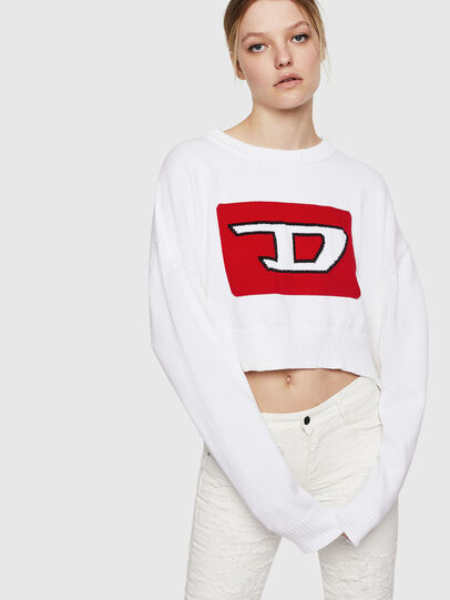 Diesel - M-LINDA, White - Knitwear - Image 1