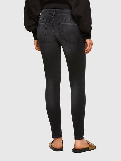 Diesel - Slandy Low 069SB, Black/Dark grey - Jeans - Image 2