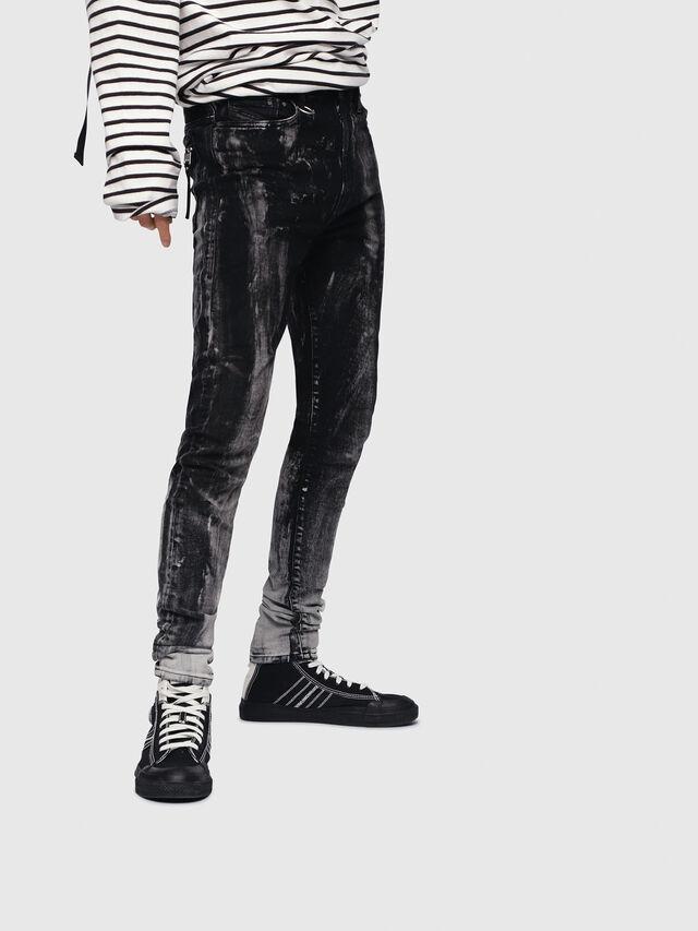 Diesel - D-Amny 089AF, Black/Dark grey - Jeans - Image 1