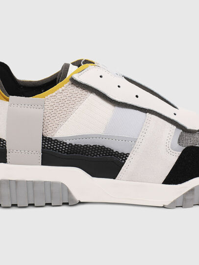Diesel - S-RUA LOW DEC, White - Sneakers - Image 4