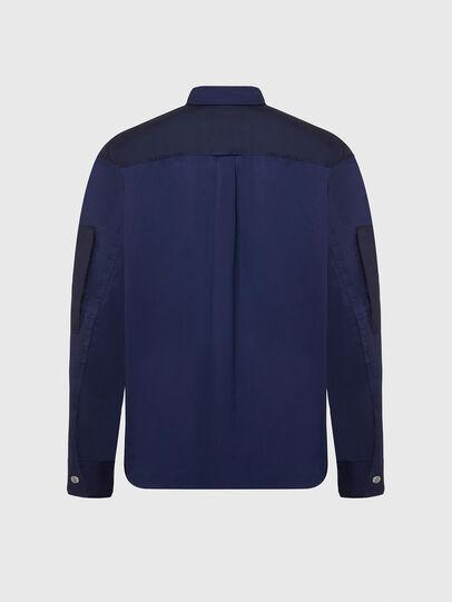 Diesel - S-AUSTIN, Blue - Shirts - Image 2