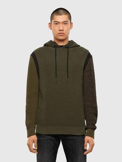 Diesel - K-CAREY, Military Green - Knitwear - Image 1