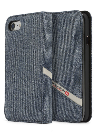 Diesel - DENIM IPHONE 8 PLUS/7 PLUS FOLIO,  - Flip covers - Image 3