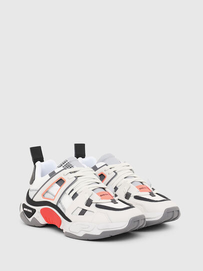 Diesel - S-KIPPER LOW TREK II, White - Sneakers - Image 2