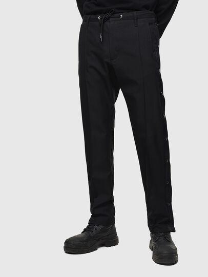 Diesel - P-MARLEN, Black - Pants - Image 1