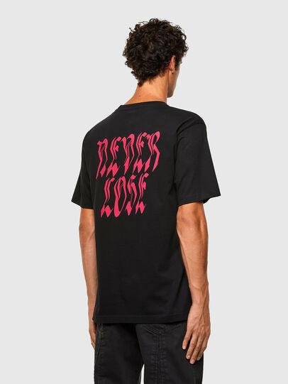 Diesel - T-TUBOLAR-N3, Black - T-Shirts - Image 2
