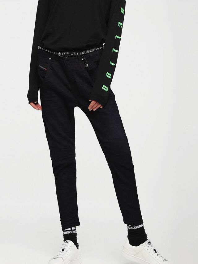 Diesel - Fayza JoggJeans 0829P, Dark Blue - Jeans - Image 1