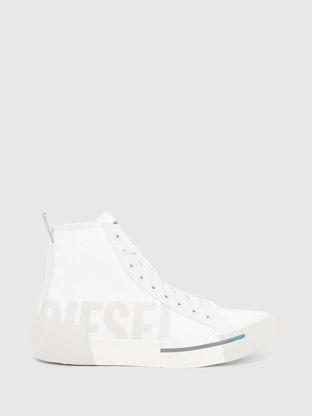 S-DESE MID CUT W, White - Sneakers