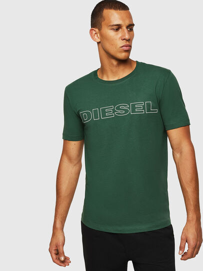 Diesel - UMLT-JAKE, Dark Green - T-Shirts - Image 1