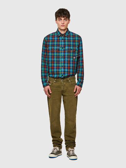 Diesel - D-Kras 09A35, Military Green - Jeans - Image 5