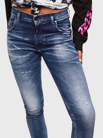 Diesel - Krailey JoggJeans 0096M, Dark Blue - Jeans - Image 3