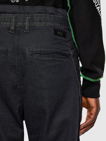 Diesel - D-Skint JoggJeans® 069PC, Black/Dark grey - Jeans - Image 4