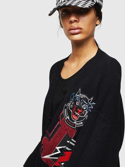 Diesel - M-JENNY, Black - Knitwear - Image 3