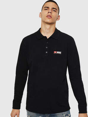T-WEET-DIV-LS, Black - Polos