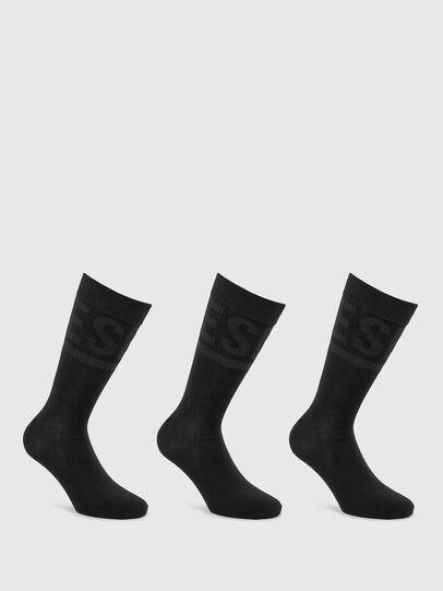 Diesel - SKM-HERMINE-THREEPAC, Black - Socks - Image 1