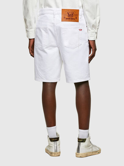 Diesel - D-STRUKT-SHORT, White - Shorts - Image 2
