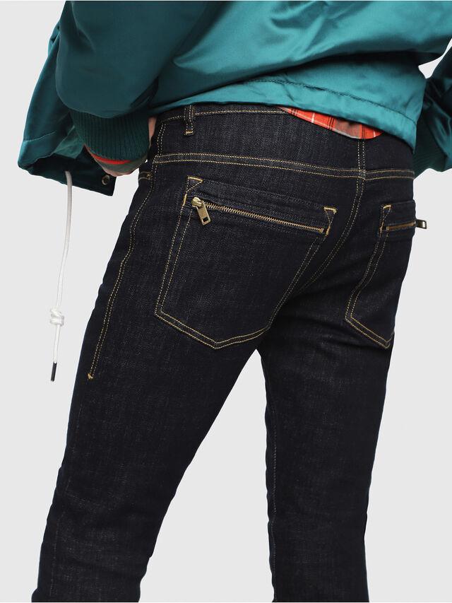 Diesel - D-Amny 089AC, Dark Blue - Jeans - Image 3