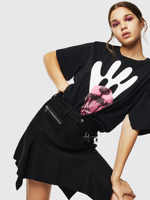 T-JUSTINA, Black - T-Shirts