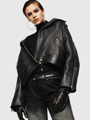 LJESIV, Black - Leather jackets